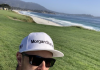 Justin Rose na Pebble Beach Instagram