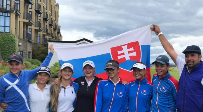 St Andrews Junior Ladies' Open 2019 Antónia Zacharovská
