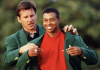 Nick Faldo Tiger Woods Masters