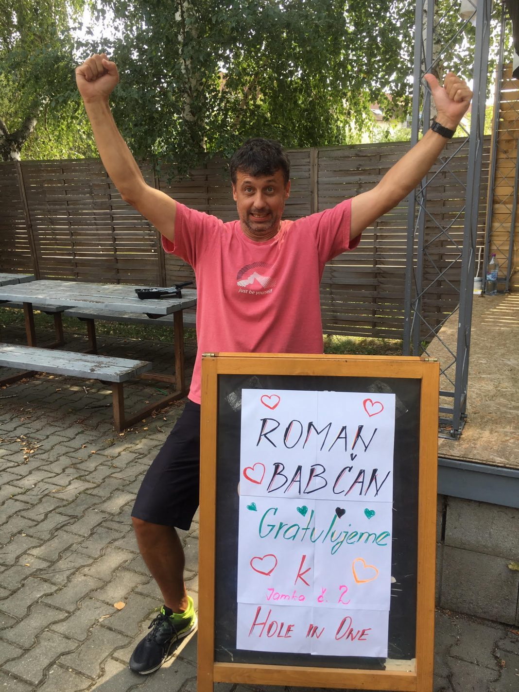 Roman Babčan Agama hole-in-one 2019