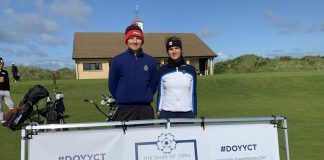 The Duke of York Young Champions Trophy v Royal Portrush Ema Dobiášová Matej Babic